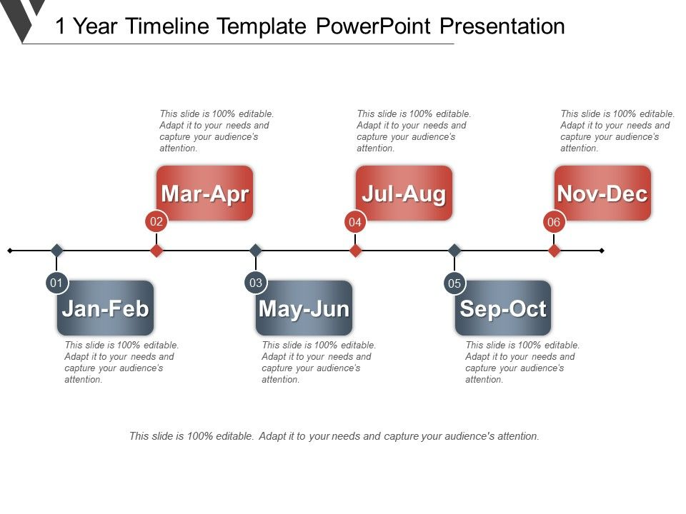 1 Year Timeline Template Powerpoint Presentation CV Templates Download Free CV Templates [optimizareseo.online]