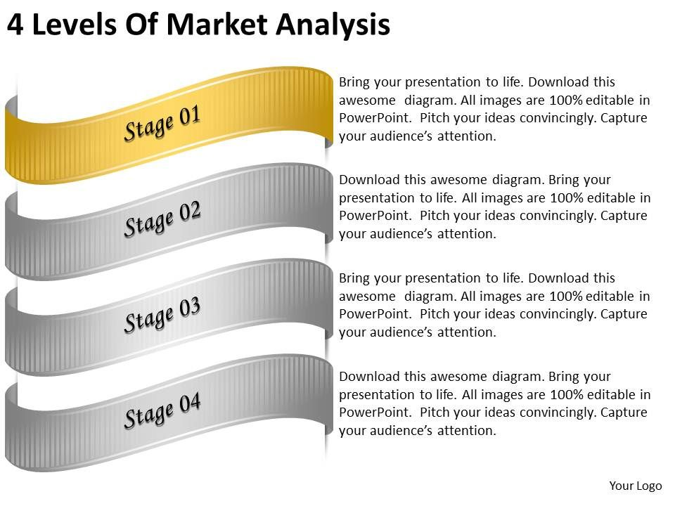 2013_business_ppt_diagram_4_levels_of_market_analysis_powerpoint_template_Slide02