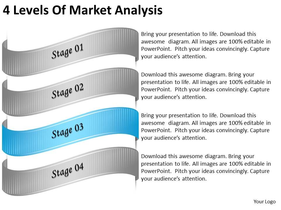 2013_business_ppt_diagram_4_levels_of_market_analysis_powerpoint_template_Slide04