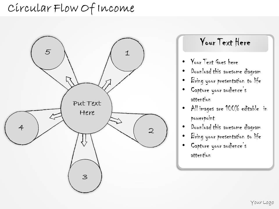 2014_business_ppt_diagram_circular_flow_of_income_powerpoint_template_Slide02