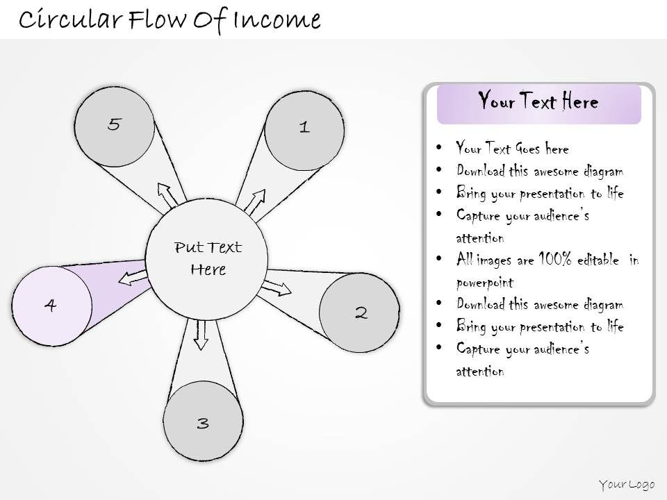 2014_business_ppt_diagram_circular_flow_of_income_powerpoint_template_Slide06