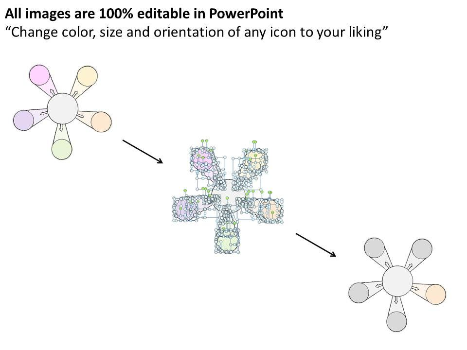 2014 business ppt diagram circular flow of income powerpoint template