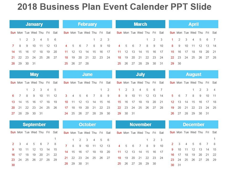2018_business_plan_event_calender_ppt_slide_Slide01.  2018_business_plan_event_calender_ppt_slide_Slide02