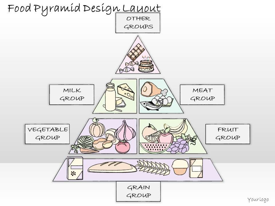 2102 Business Ppt Diagram Food Pyramid Design Layout