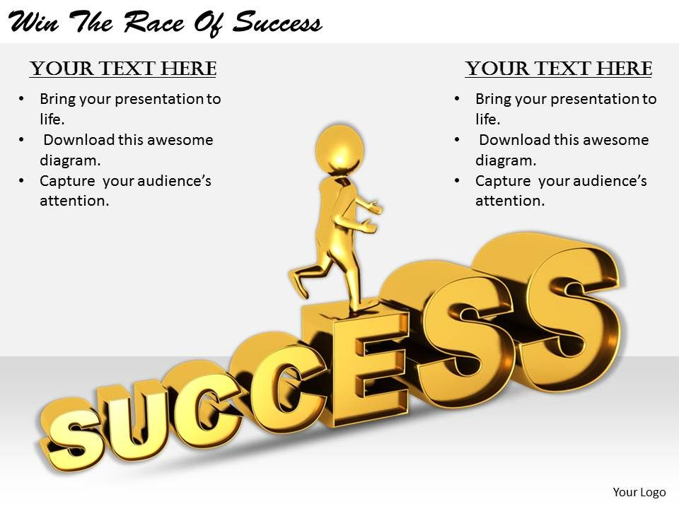 2413_business_ppt_diagram_win_the_race_of_success_powerpoint_template_Slide01