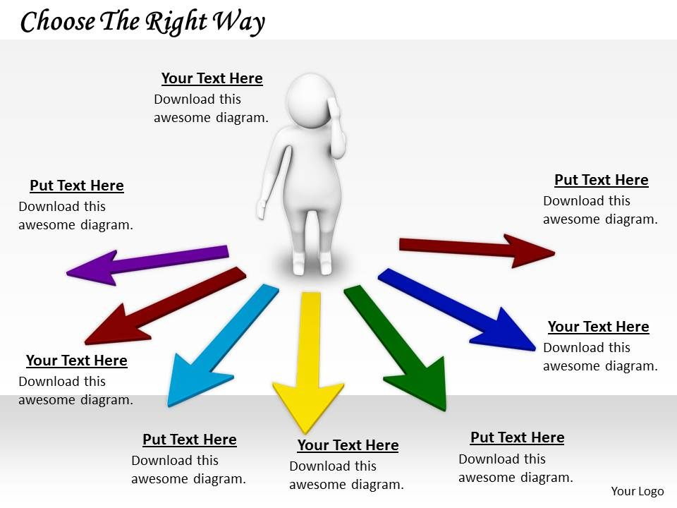 2413_choose_the_right_way_ppt_graphics_icons_powerpoint_Slide01