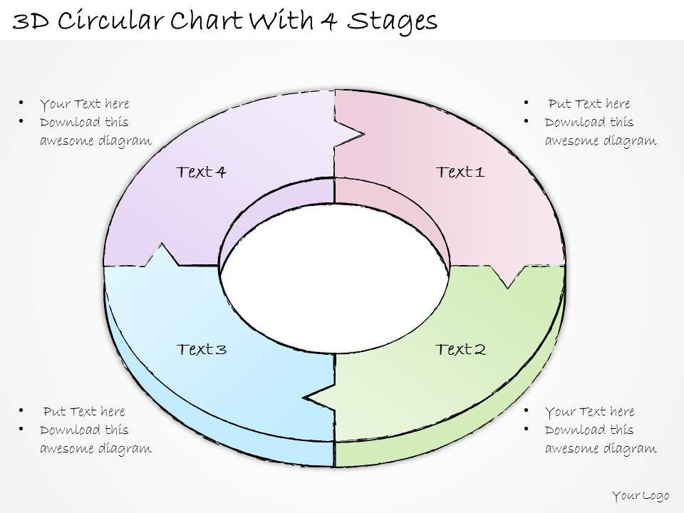 2502_business_ppt_diagram_3d_circular_chart_with_4_stages_powerpoint_template_Slide01