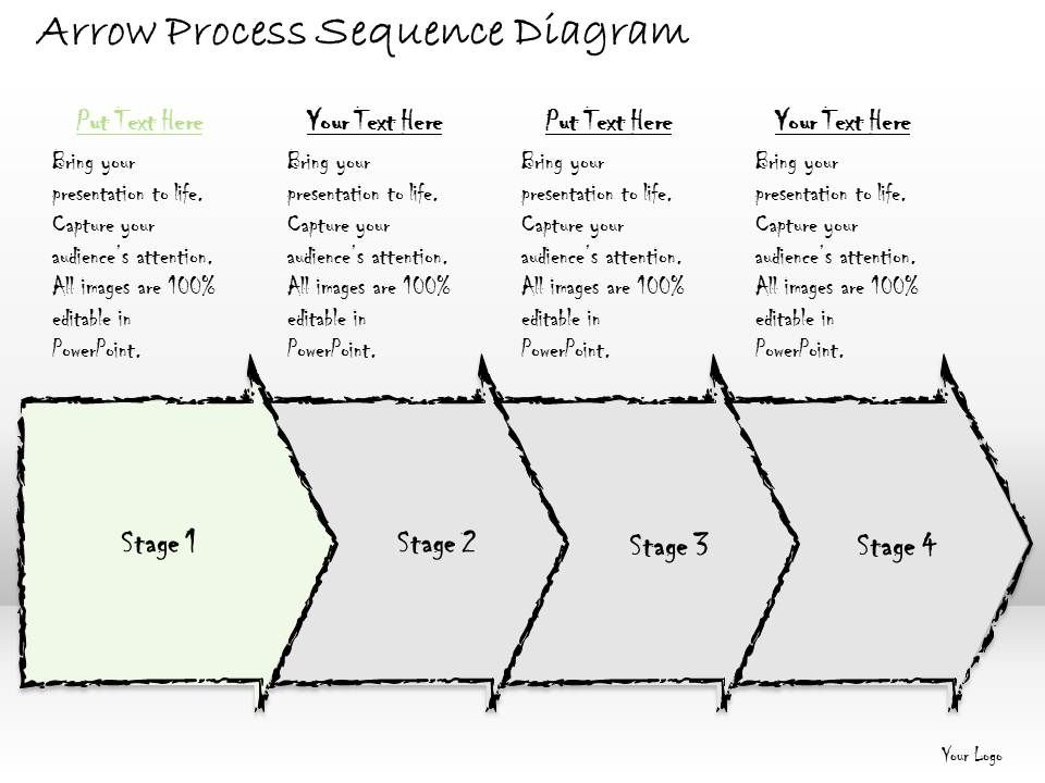 business ppt diagram arrow process sequence diagram       business ppt diagram arrow process sequence diagram powerpoint template slide