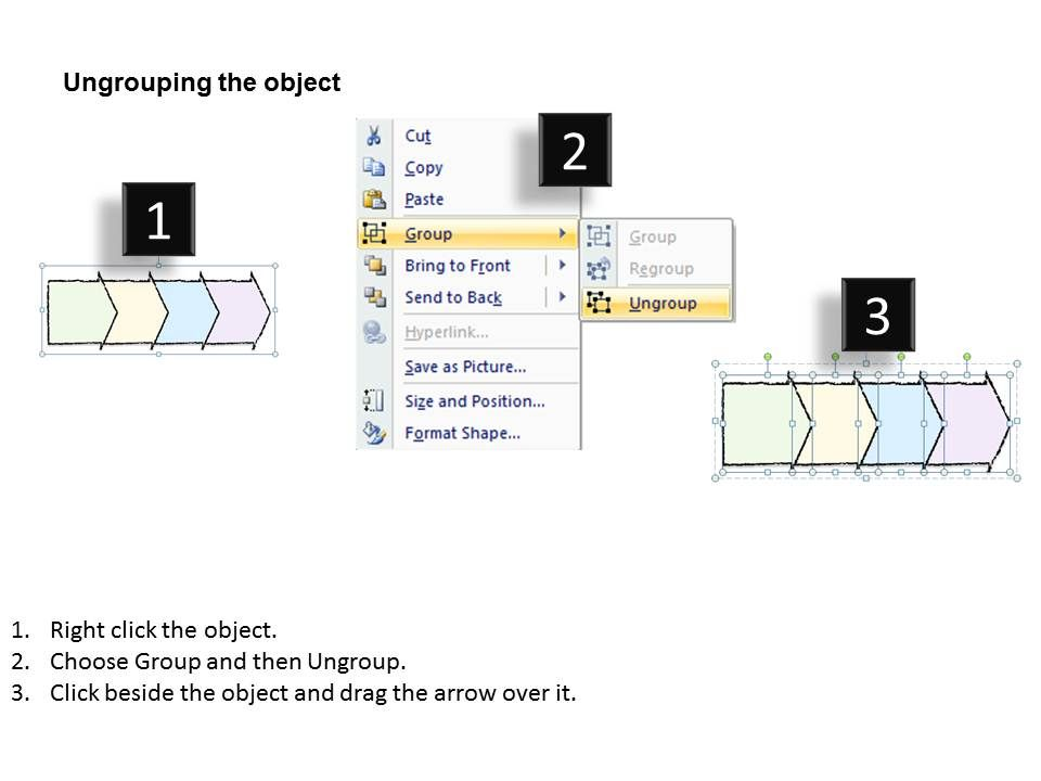 2502 Business Ppt Diagram Arrow Process Sequence Diagram Powerpoint