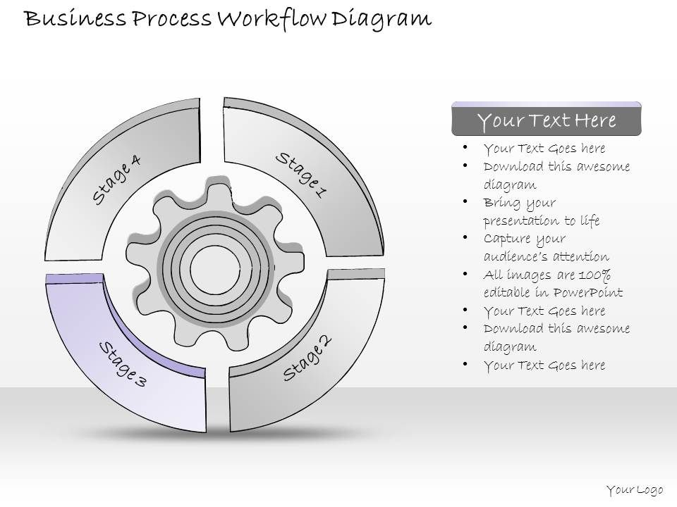 workflow diagram template powerpoint .