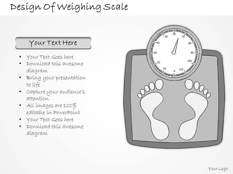 Weighing Scale Template