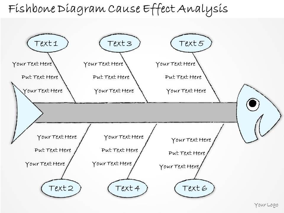 2502 Business Ppt Diagram Fishbone Diagram Cause Effect Analysis