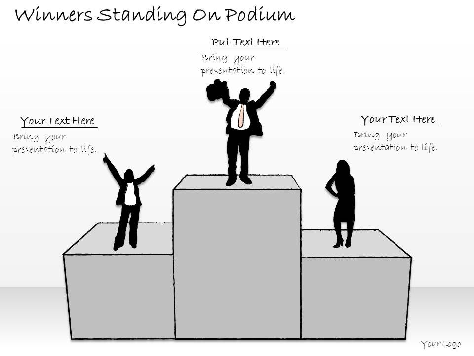 2502_business_ppt_diagram_winners_standing_on_podium_powerpoint_template_Slide01