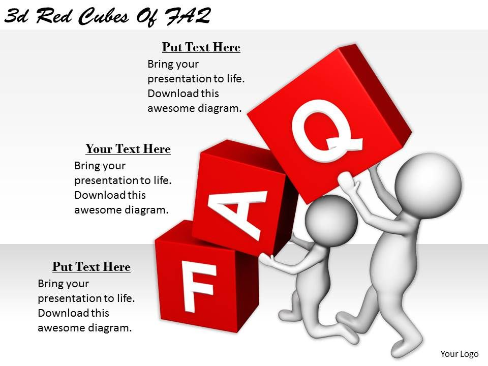 2513_3d_red_cubes_of_faq_ppt_graphics_icons_powerpoint_Slide01