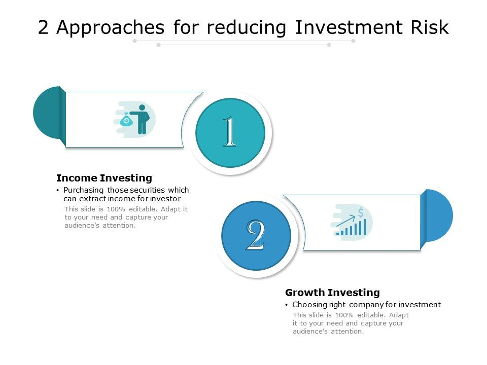 2 Approaches For Reducing Investment Risk