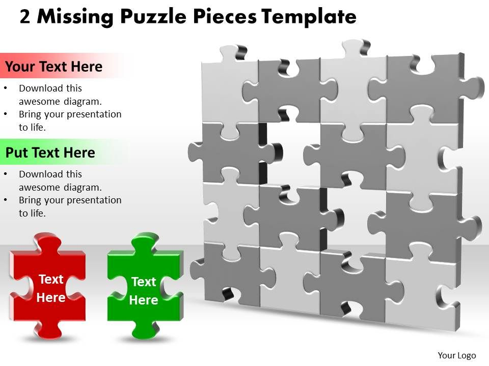 48785217 style puzzles missing 1 piece powerpoint presentation, Modern powerpoint