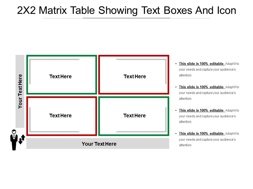 2x2_matrix_table_showing_text_boxes_and_icon_Slide01