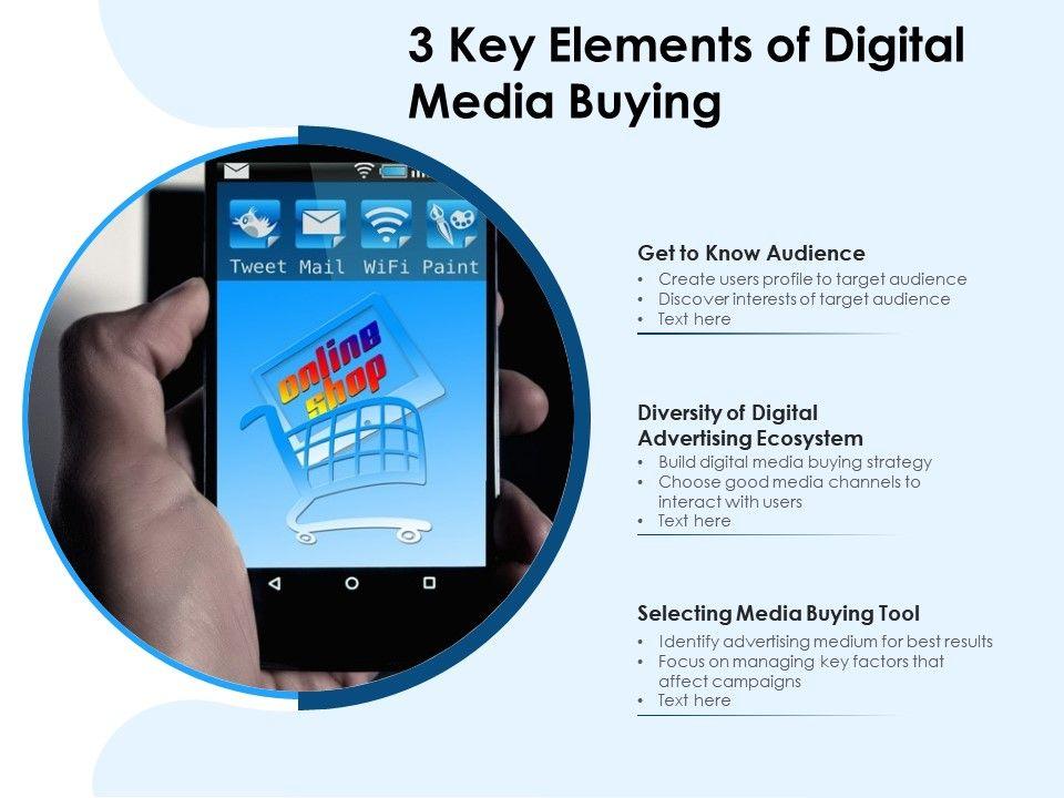 3 Key Elements Of Digital Media Buying