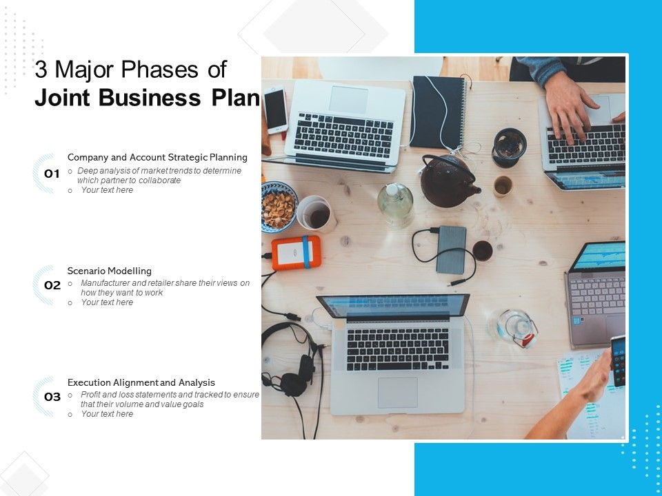 3 Major Phases Of Joint Business Plan