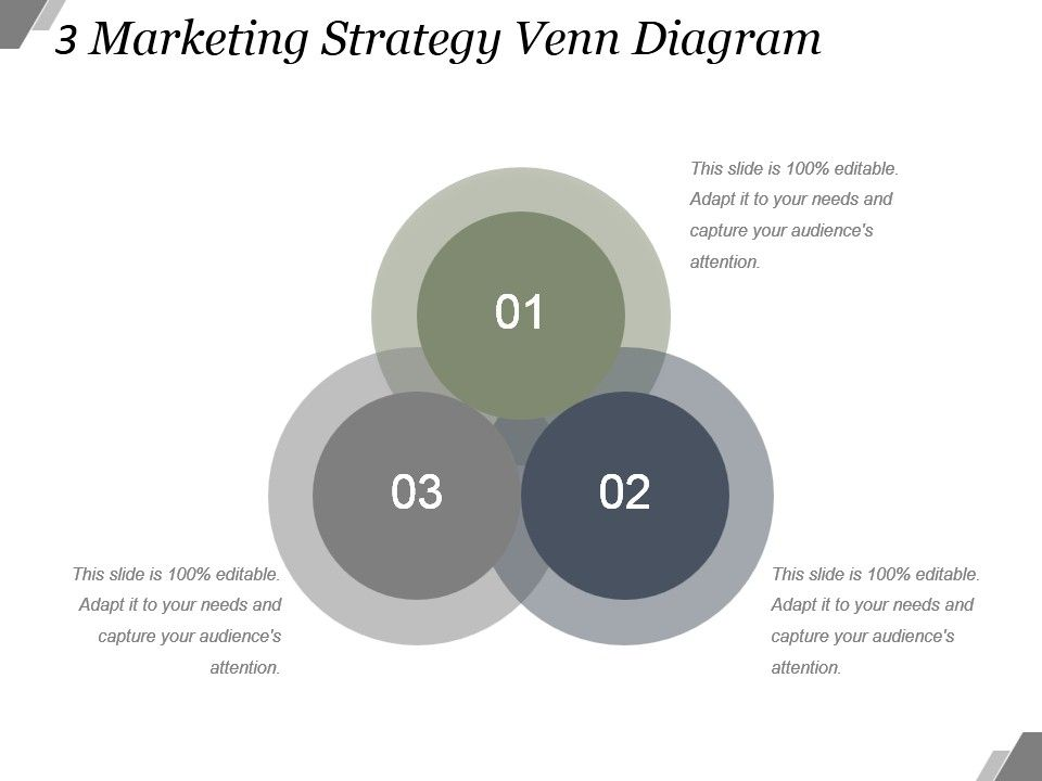 Ppt Strategy Venn Diagram Block And Schematic Diagrams