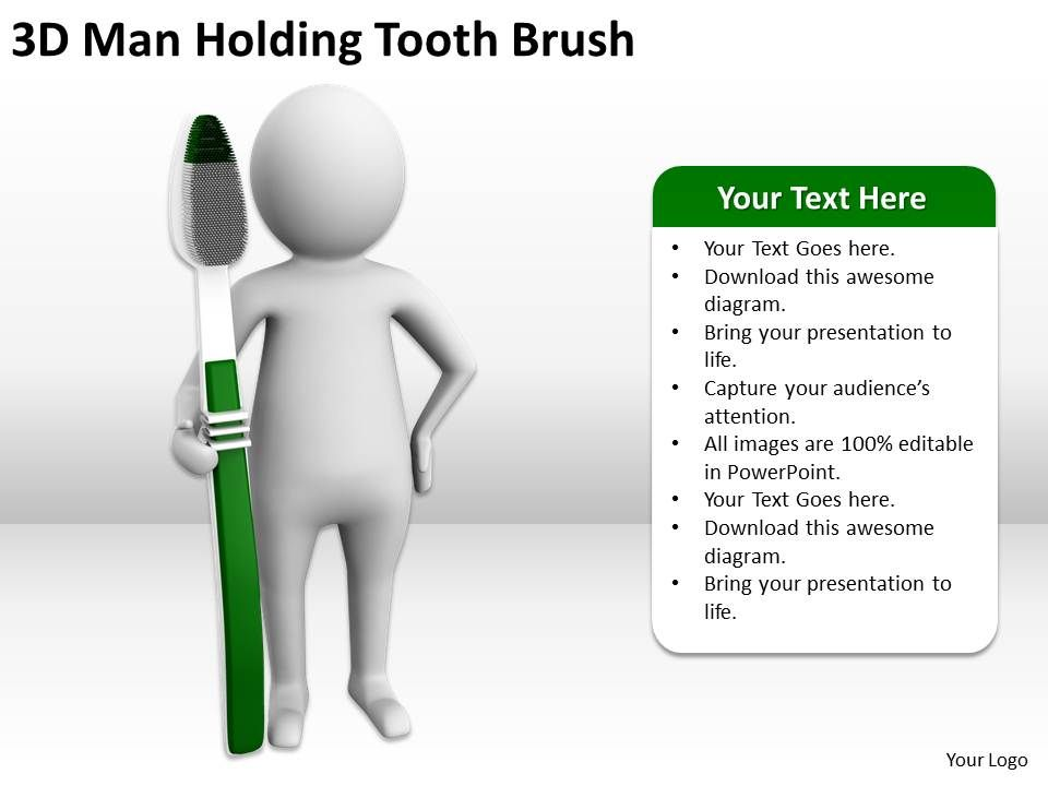 3d-man_holding_tooth_brush_ppt_graphics_icons_powerpoint_Slide01