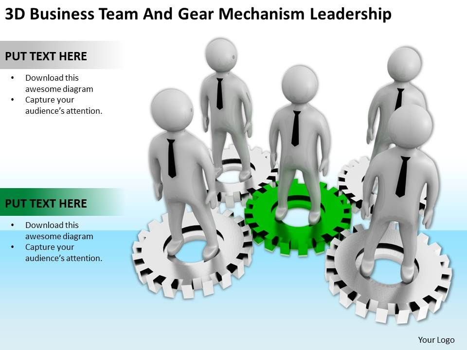3d_business_team_and_gear_mechanism_leadership_ppt_graphics_icons_powerpoin_Slide01