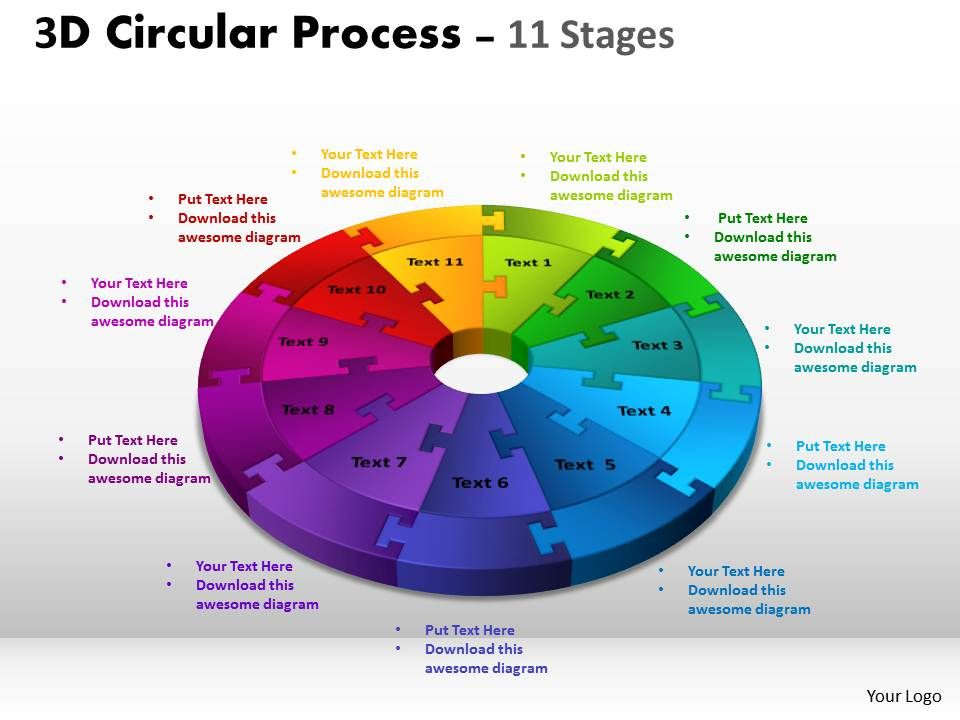 3d circular process cycle diagram chart 11 stages design 3 3dcircularprocesscyclediagramchart11stagesdesign3powerpointslidesandppttemplates0412slide01 ccuart Gallery