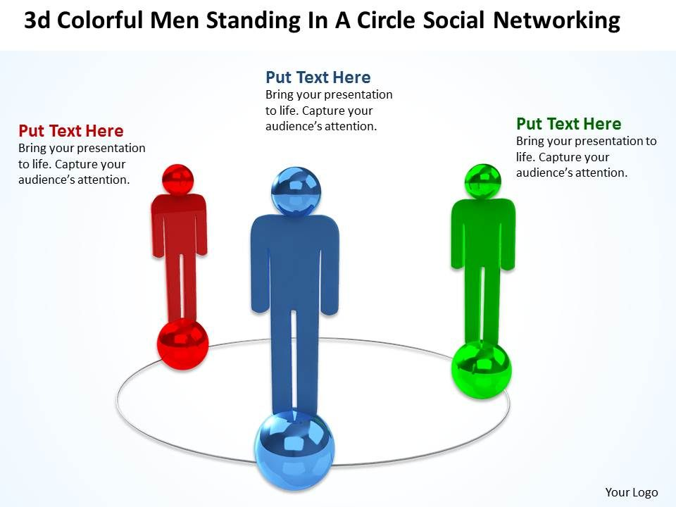 3d_colorful_men_standing_in_a_circle_social_networking_ppt_graphic_icon_Slide01