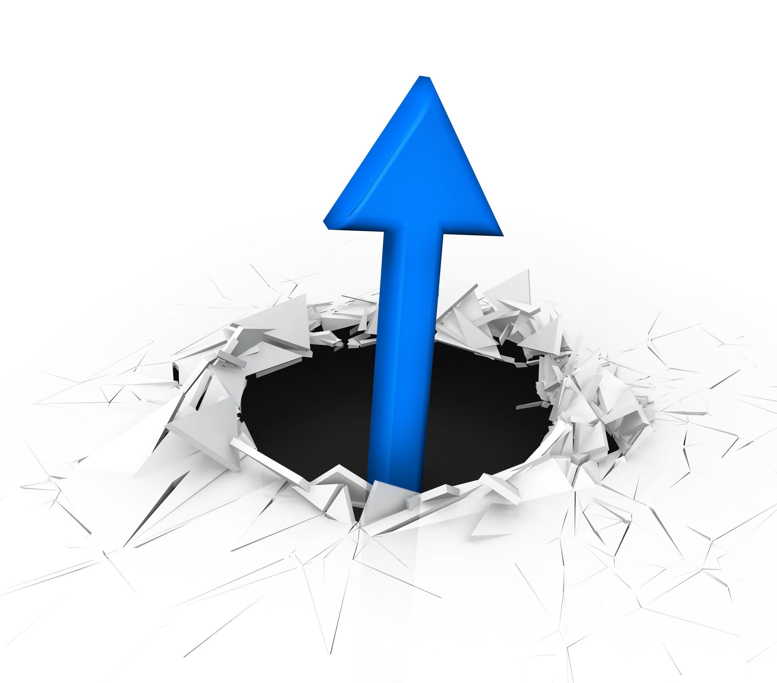 3d_crack_effect_blue_color_arrow_coming_out_stock_photo_Slide01