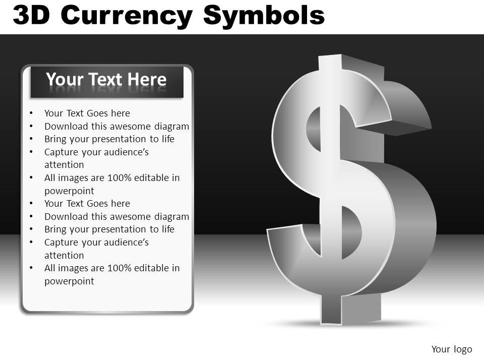 3d_currency_symbols_powerpoint_presentation_slides_db_Slide01