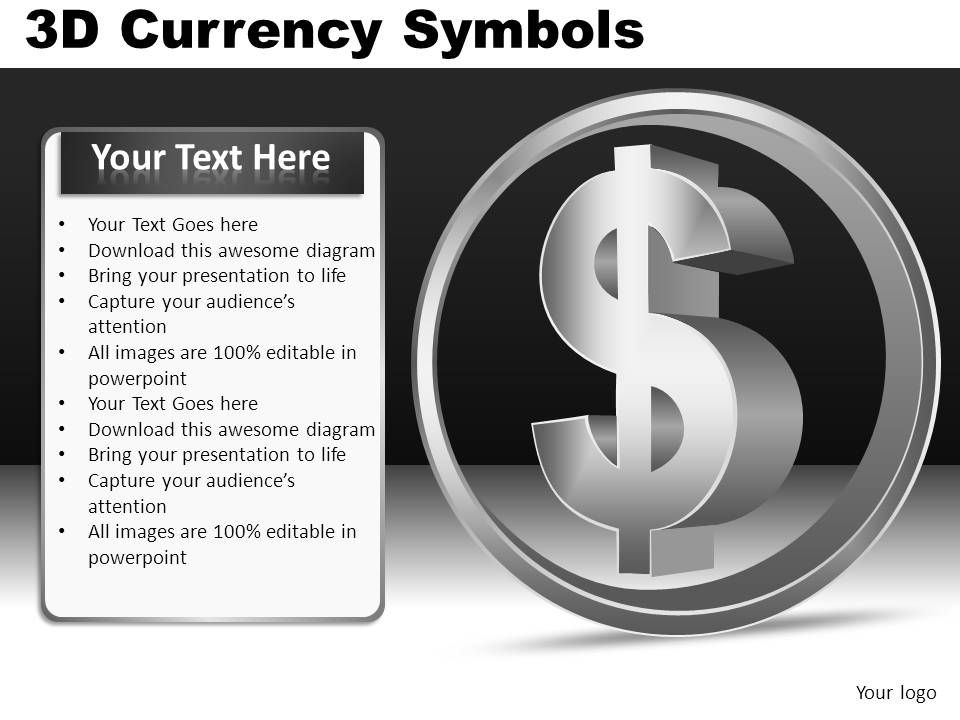 how to change currency in google slides