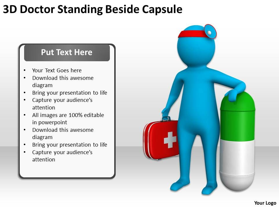 3d_doctor_standing_beside_capsule_ppt_graphics_icons_powerpoint_Slide01