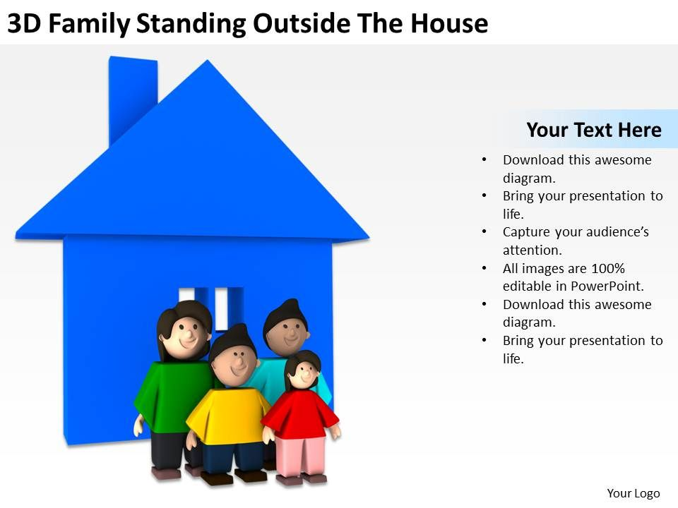 3d_family_standing_outside_the_house_ppt_graphics_icons_powerpoint_Slide01