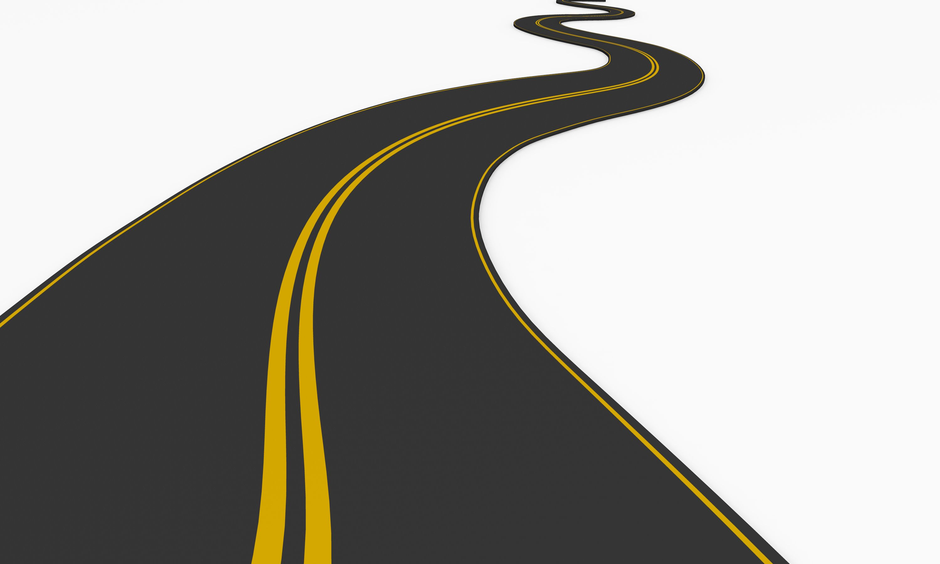 3D Graphic Of Roadmap On White Background Stock Photo ...