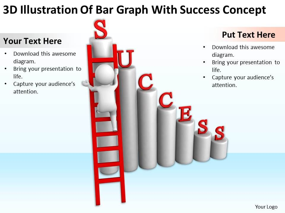 3d_illustration_of_bar_graph_with_success_concept_ppt_graphics_icons_powerpoint_Slide01