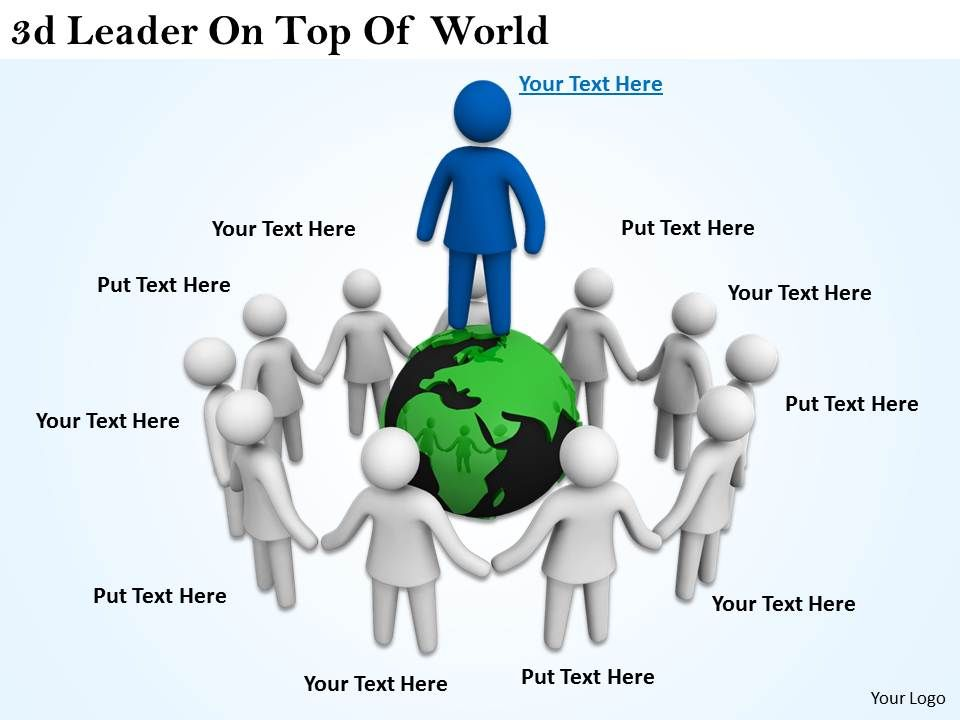 3d_leader_on_top_of_world_ppt_graphics_icons_powerpoint_Slide01