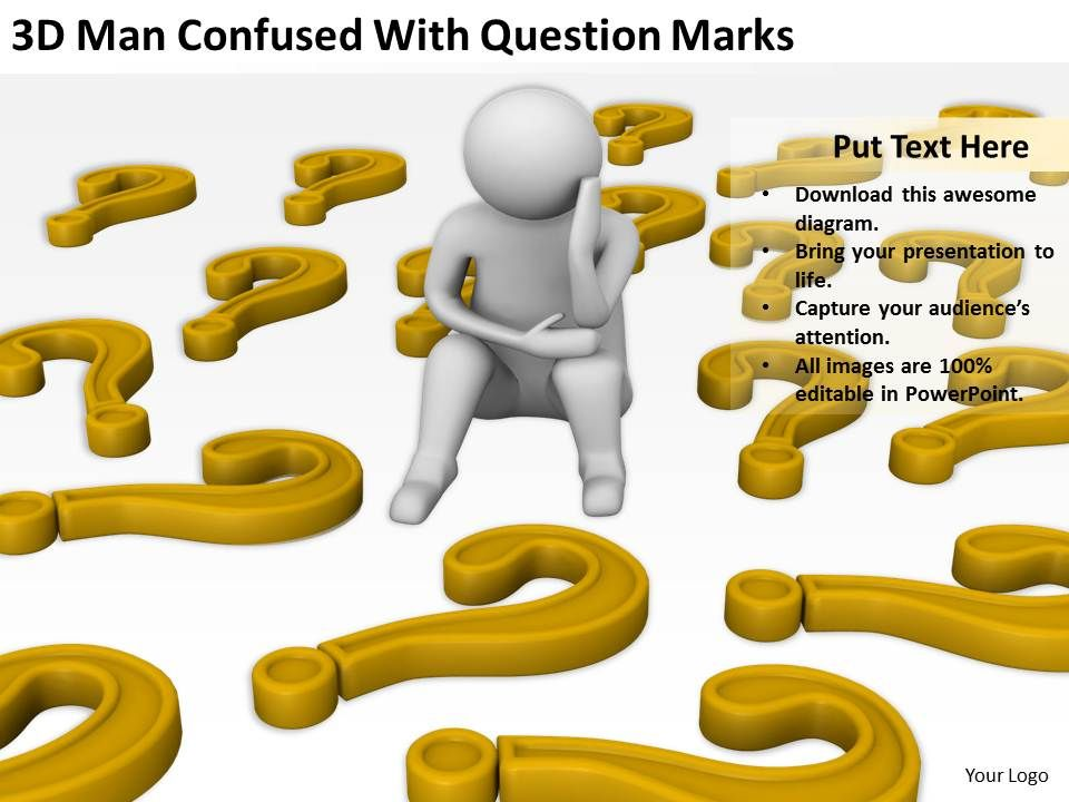 3d_man_confused_with_question_marks_ppt_graphics_icons_powerpoint_Slide01