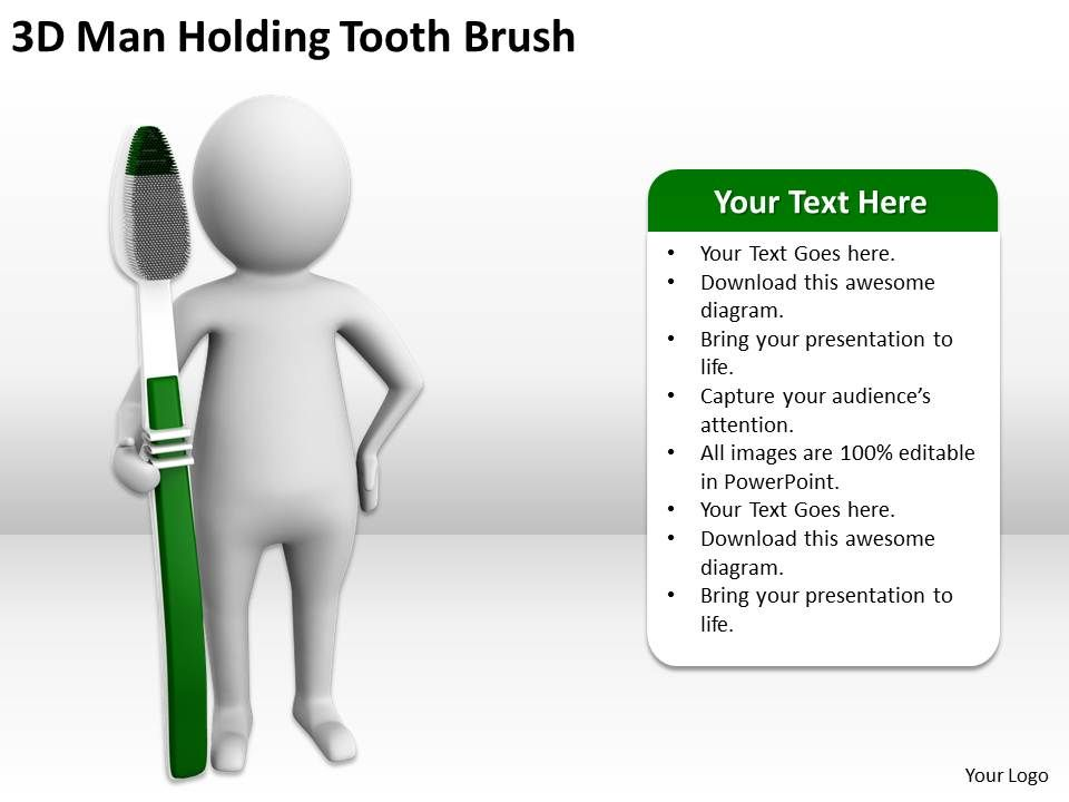 3d_man_holding_tooth_brush_ppt_graphics_icons_powerpoint_Slide01