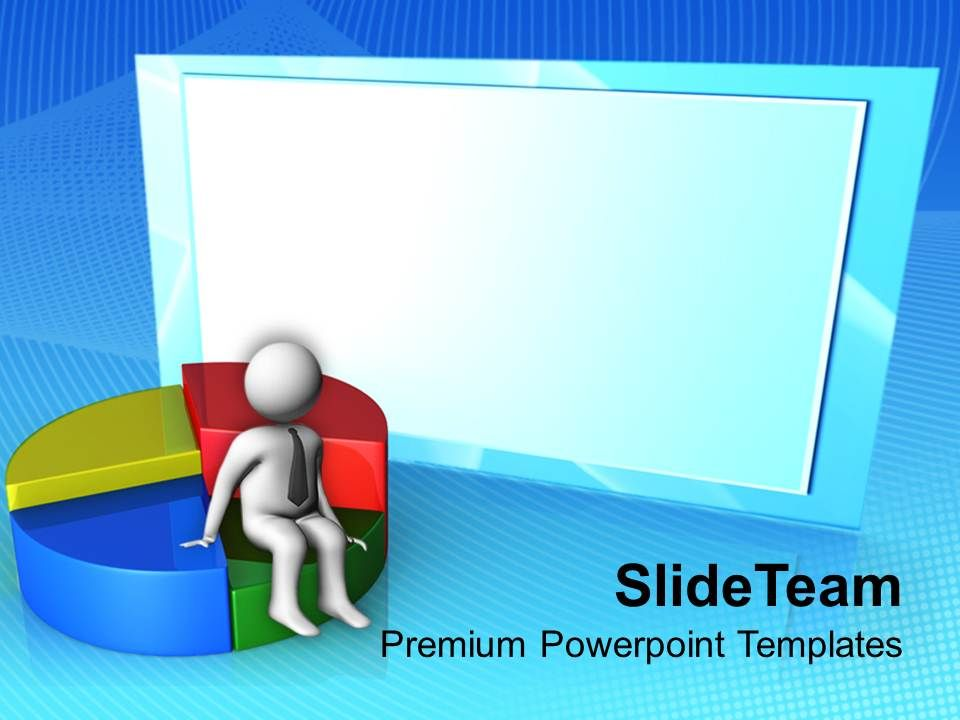 3d_man_on_pie_chart_business_powerpoint_templates_ppt_themes_and_graphics_0113_Slide01