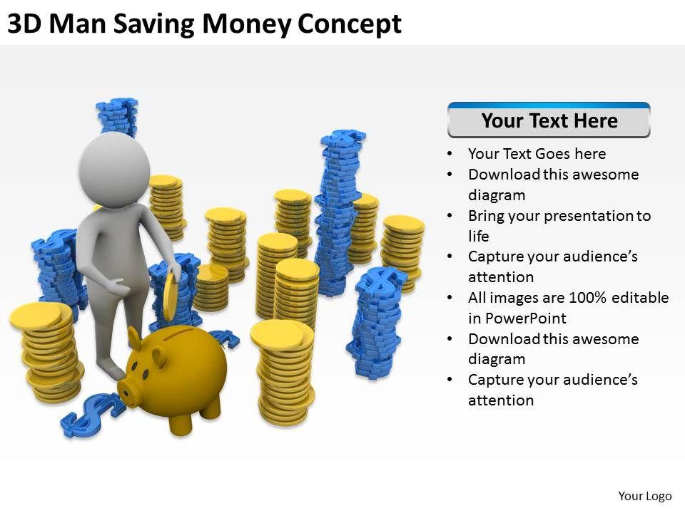 3d_man_saving_money_concept_ppt_graphics_icons_powerpoint_Slide01