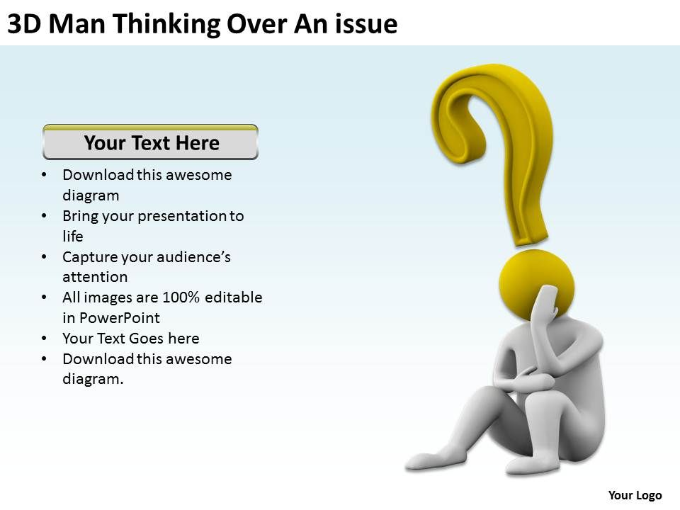 3d_man_thinking_over_an_issue_ppt_graphics_icons_powerpoint_Slide01