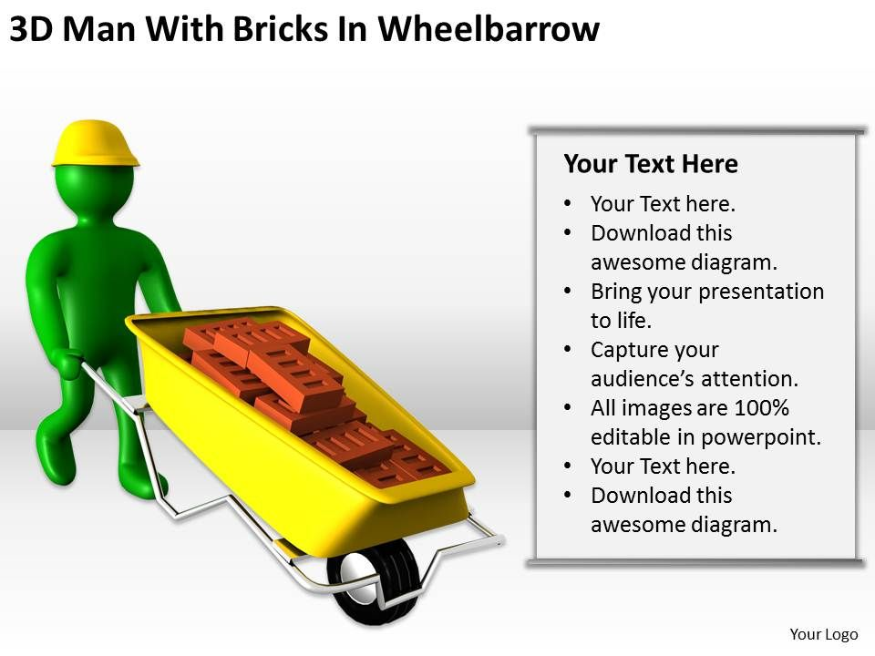 3d_man_with_bricks_in_wheelbarrow_ppt_graphics_icons_powerpoint_Slide01