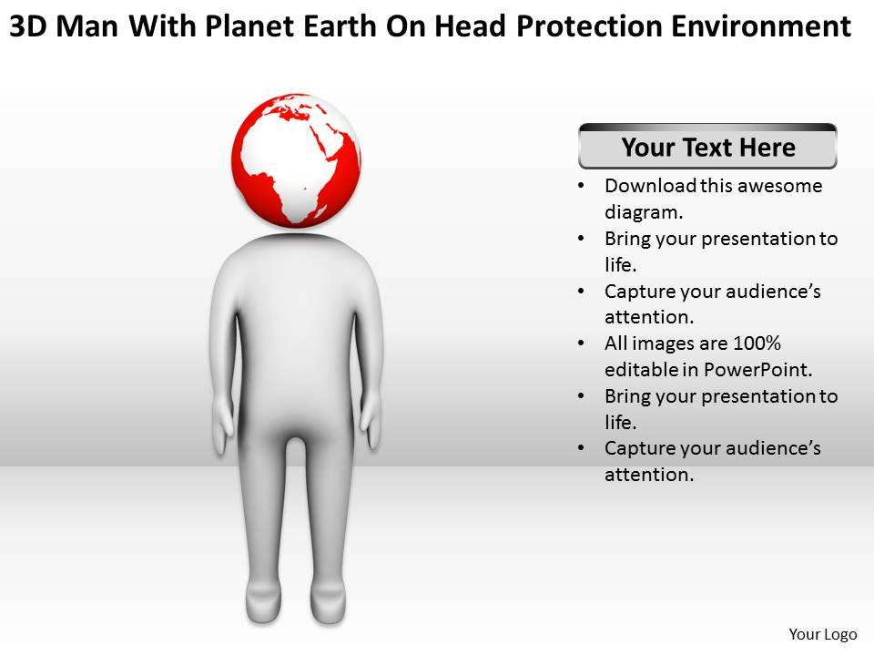 3d_man_with_palnet_earth_on_head_protection_environment_ppt_graphics_icons_powerpoin_Slide01