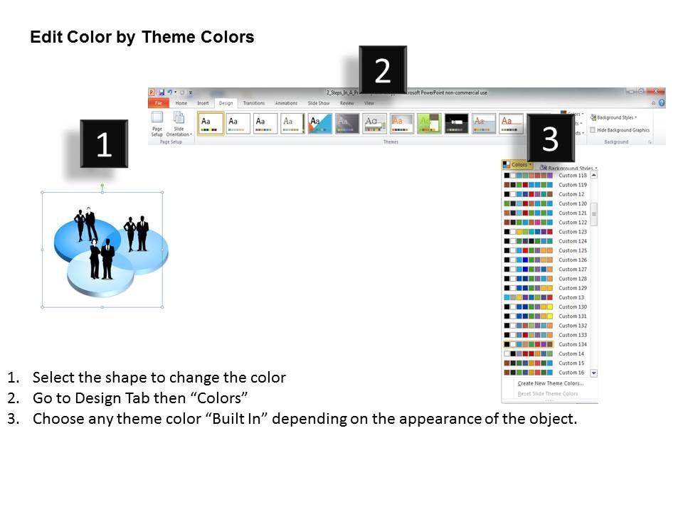 3D Market Segmentation Powerpoint Template Slide | PowerPoint ...