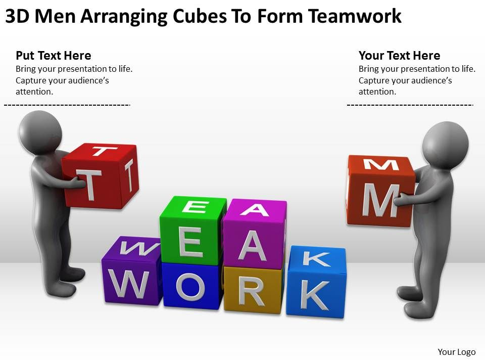 3d_men_arranging_cubes_to_form_teamwork_ppt_graphics_icons_powerpoint_Slide01