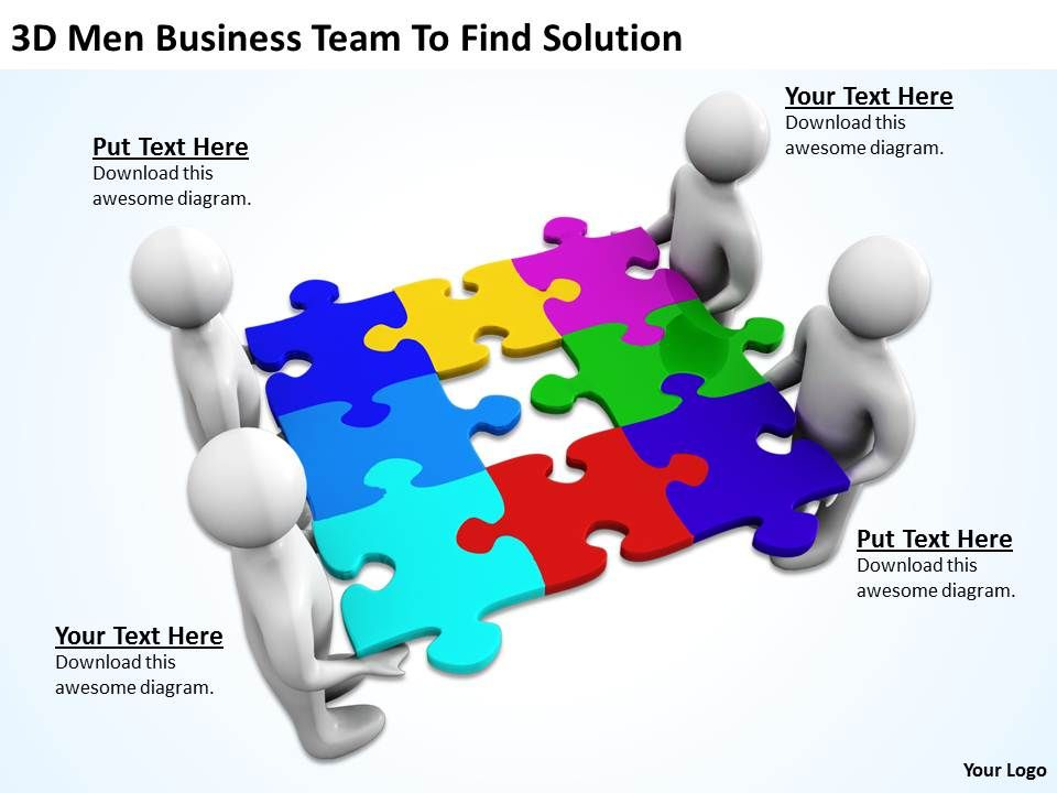 3d_men_business_team_to_find_solution_ppt_graphics_icons_powerpoint_Slide01