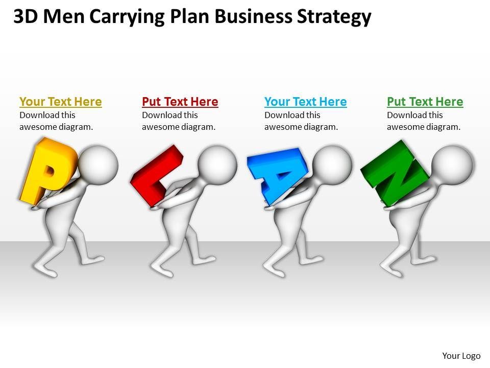 3d_men_carrying_plan_business_strategy_ppt_graphics_icons_powerpoint_Slide01