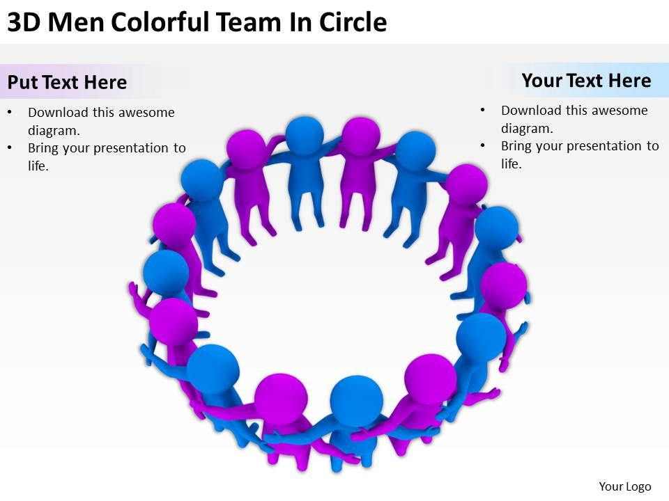 3d_men_colorful_team_in_circle_ppt_graphics_icons_powerpoint_Slide01