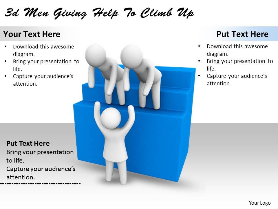3d_men_giving_help_to_climb_up_ppt_graphics_icons_powerpoint_Slide01