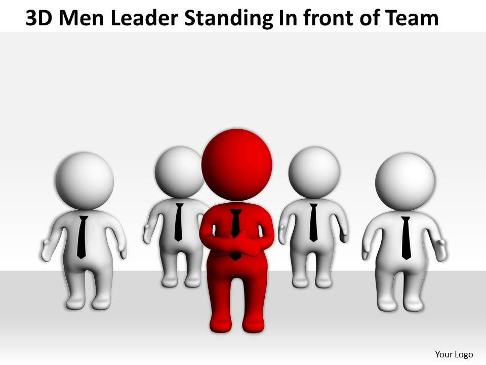 3d_men_leader_standing_infront_of_team_ppt_graphics_icons_powerpoint_Slide01